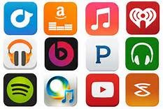 MUSIC STREAMING SERVICES LOGO