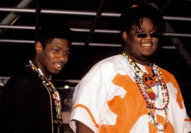 UNSPECIFIED - JANUARY 01:  Photo of PM DAWN  (Photo by Mick Hutson/Redferns)