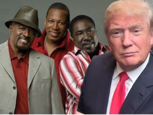 Eddie Levert says :Donald you tried it!