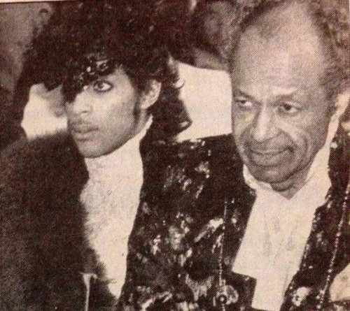 Prince and John Nelson