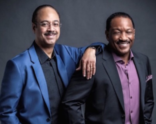 Donnie Simpson and Tony Perkins