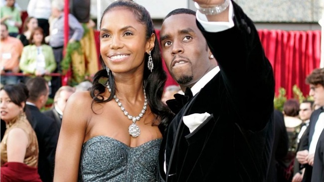 Kim Porter and Puffy