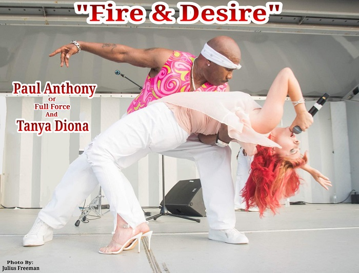 "Paul Anthony & Tanya Diona ""Fire & Desire"""