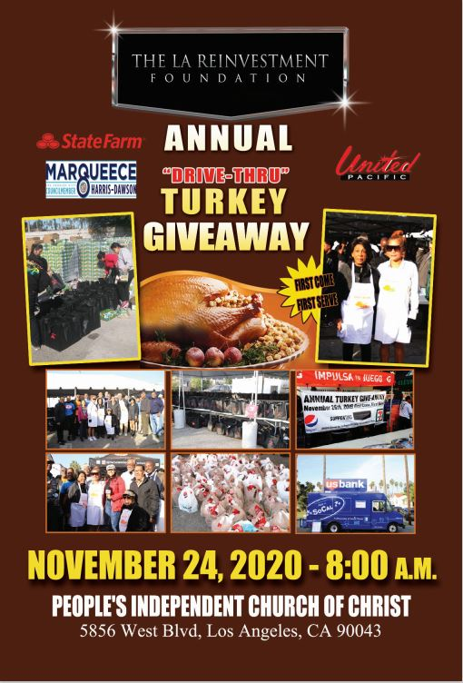 Turkey Giveaway in LA